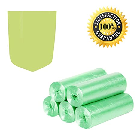 Bolsas de basura biodegradables, bolsas de basura de 4 a 6 ...