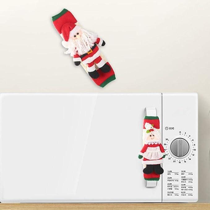 Cherishly Navidad Appliance Las manija, Las Decoraciones de Fiesta ...