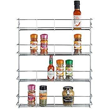 Amazon Com Organize It All 3 Tier Wall Mounted Spice