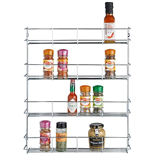 cabinet mount spice rack - 6