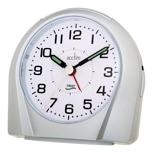 acctim 14117 Europa silence tick alarm clock
