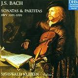 Sonates & Partitas pour violon seul  BWV 1001-1006
