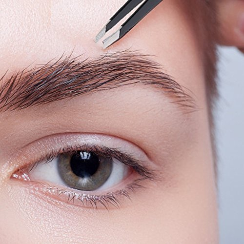 Professional Stainless Steel Tweezers The Best Precision Eyebrow by DBzon (Image #3)