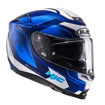 HJC casco Moto Rpha 70 Grandal MC2, azul/blanco