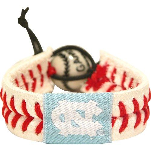- North Carolina Tar Heels Classic Baseball Bracelet