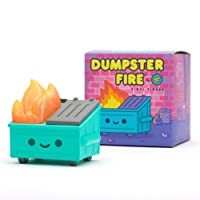 100% Soft Dumpster Fire Vinyl Figure