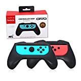 Joy-Con Hand-grips for Nintendo Switch, Nintendo Switch Joy-con Wear-resistant Handle Grip (Black, Set of 2) For Sale