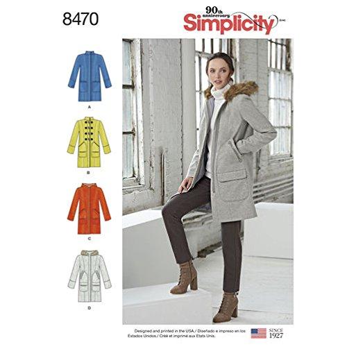 Simplicity Creative Patterns US8470U5 Tops