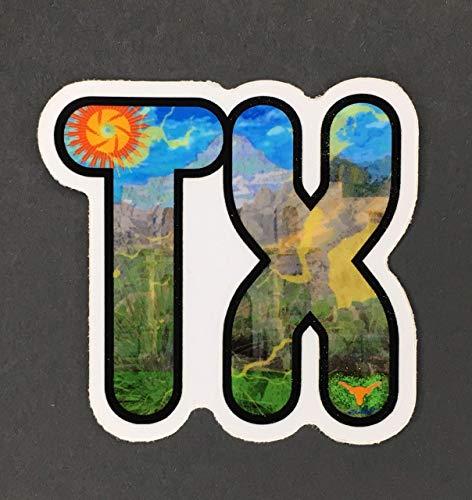(Texas Sticker, Texas Bumper Sticker)
