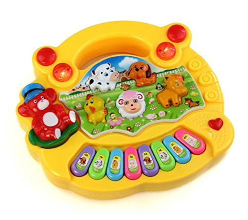 Baby Music Toy Sound Piano Keyboard Toddler Toy for Kids (Ramdon)