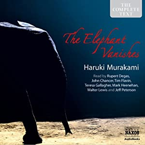 The Elephant Vanishes: Stories Hörbuch