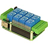 Sequent Microsystems 8-RELAY Expansion HAT for Raspberry Pi