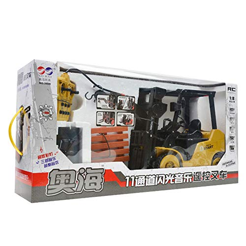 1:8 RC 8CH Forklift Truck, Sonmer Simulation Construction Toys,With 2.4GHz Remote Control,Perfect Christmas Birthday Present For Kids(Above age 8) by Sonmer (Image #3)