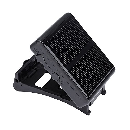 Animal Solar GPS Tracker Class 12 TCP/IP 850/900/1800/1900MHz Pet Solar Locator For Cow Horse Sheep Dog Tracker RF-V26 Car-styling Animal Anti-lost Locator Black