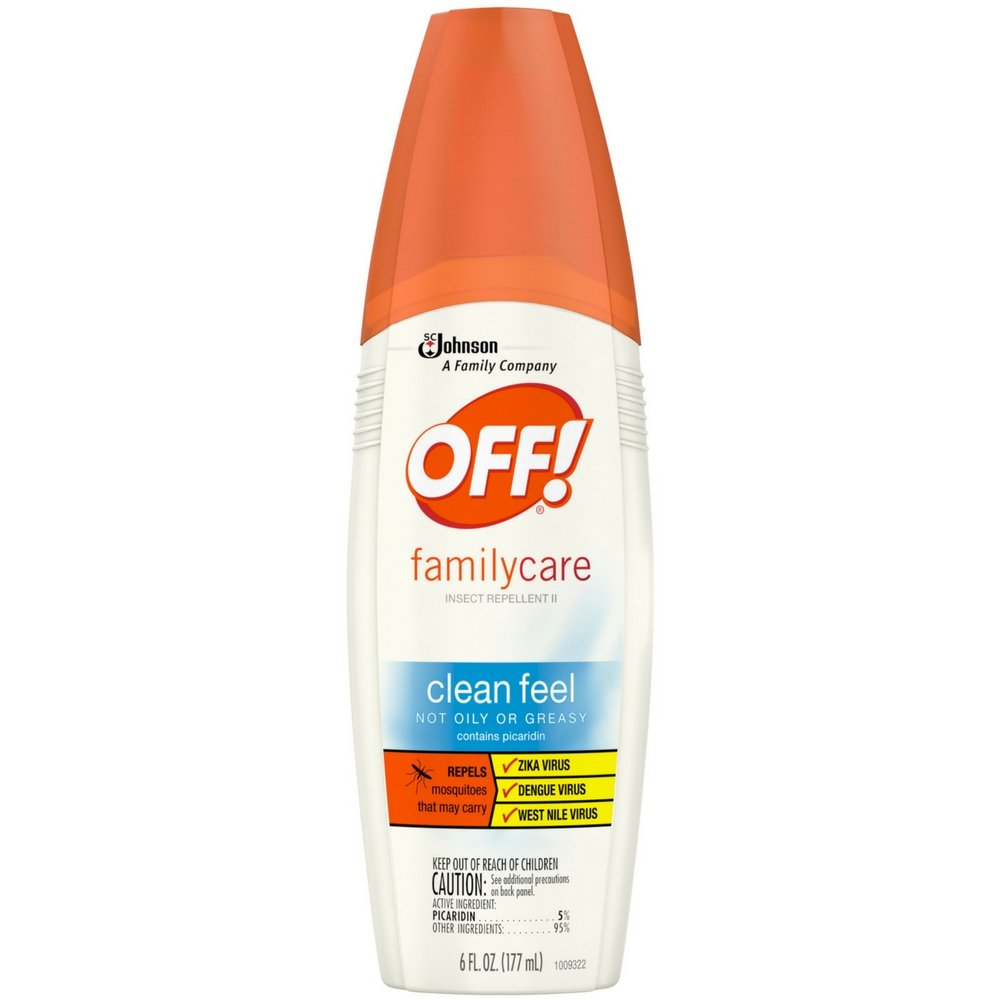 OFF! Family Care, Insect Repellent II Clean Feel, 6 oz ( Pack of 6 )