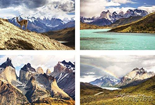 Patagonia Photography, Set of Four Photos,