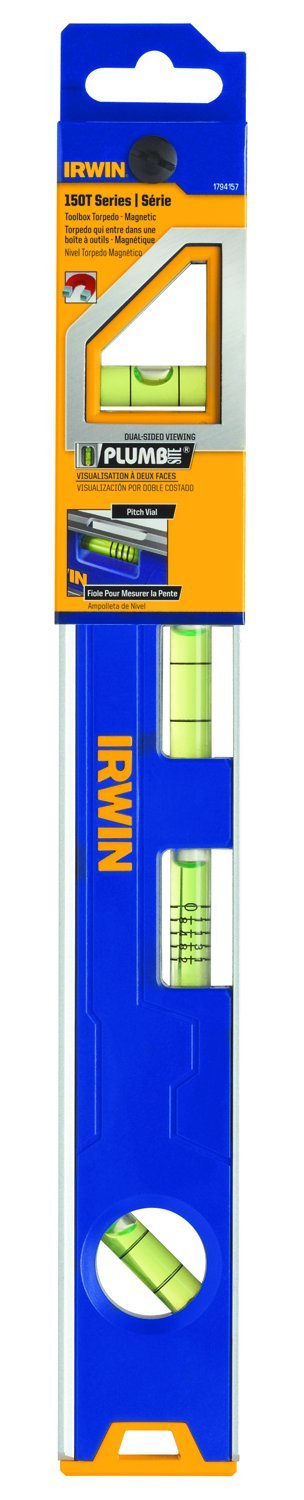 IRWIN Tools 150T Magnetic Toolbox Level, 12-Inch (1794157)