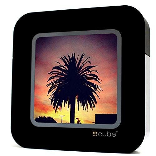 Cube - Streaming Display für Social Media - Schwarz