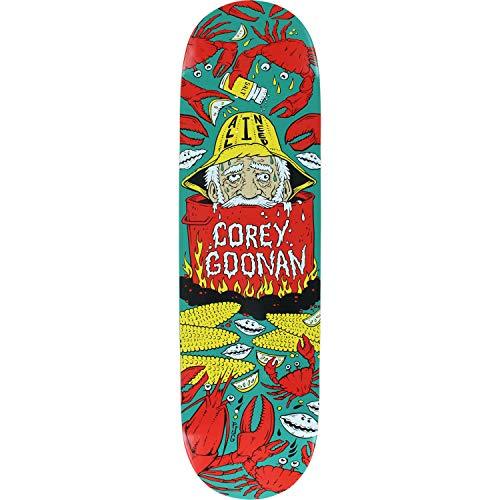 哀救援ペナルティAll I Need Skateboards Corey Goonan Clam Boiledスケートボードデッキ – 8.5