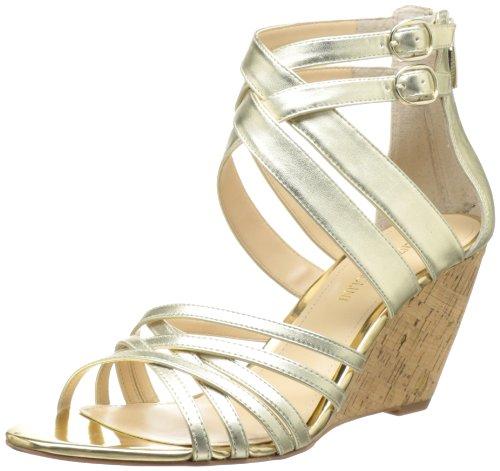 Enzo Angiolini Frauen Platform Sandalen Light Gold