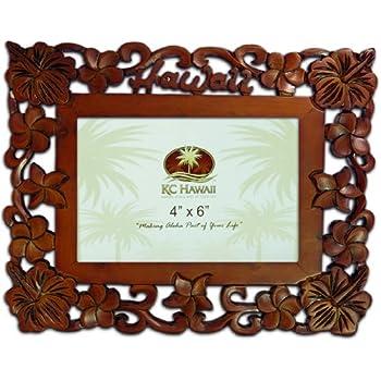 Amazon Aloha Hawaii Wood Picture Frame 5 X 7 Luxury Frames