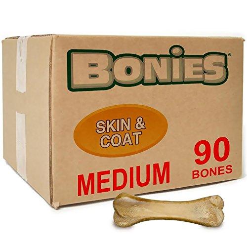 BONIES Skin Coat Health BULK BOX MEDIUM (90 Bones) by Bonies