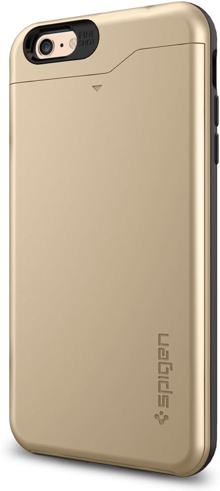 iPhone 6s Plus Case, iPhone 6 Plus Case Wallet, Spigen [Card Slot] Slim  Armor CS Case for iPhone 6s Plus (2015) / iPhone 6 Plus (2014) - Champagne  Gold (SGP10913): Amazon.ca: Cell Phones & Accessories