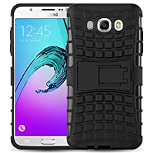 Galaxy A5 2017 Case - ALLIGATOR Heavy Duty Rugged Double Protection Back Cover for Samsung Galaxy A5 2017, Black