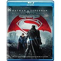 Batman vs. Superman: El origen de la Justicia (Blu-ray 3D+Blu ray) (la cubierta puede variar)