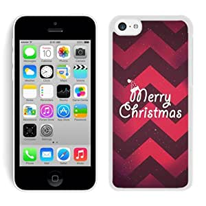 Personalization Iphone 5C TPU Case Merry Christmas White iPhone 5C Case 10