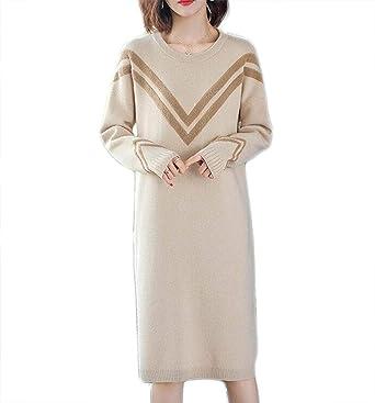 CHENGXINGF Falda de gran tamaño flojo suéter delgado de la Mujer ...