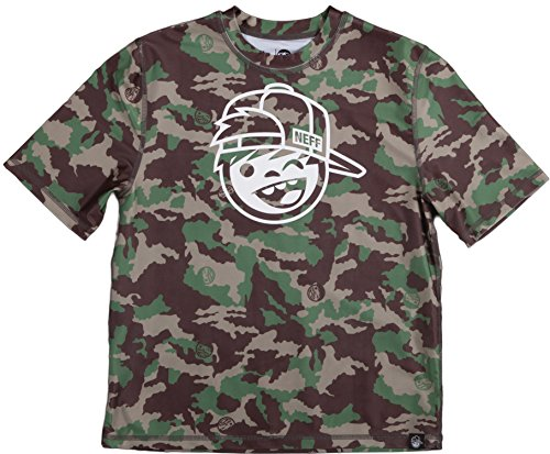 r Rashguard Short-Sleeve Shirt Medium Camo ()