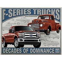 """Ford - F-series Trucks Metal Tin Sign 16"""" X 12.5"""" , 16x13"""