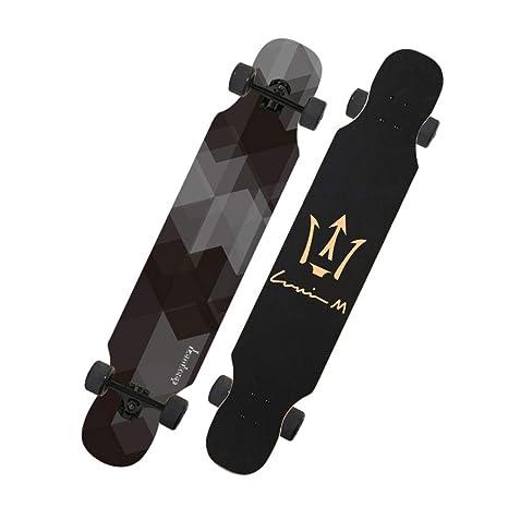 LINGLING-Skateboard Longboard para Principiantes, Adultos ...