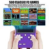 Diswoe 500 in 1 Handheld Game Console, Retro Mini
