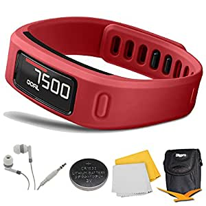 garmin vivofit bluetooth fitness band red. Black Bedroom Furniture Sets. Home Design Ideas