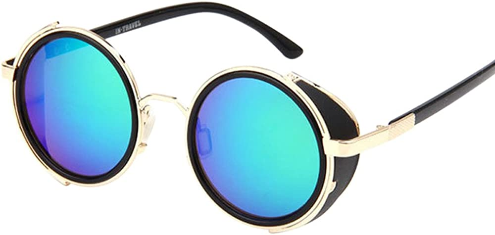 Mlide Unisex Unique Mirrored Color Lenes Sunglasses Polarized for Men Women Glass Driving Outdoor