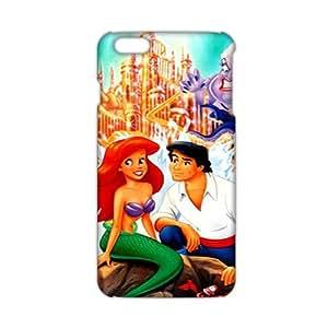Angl 3D Case Cover Cartoon Cute Mermaid Phone Case for iPhone6 plus wangjiang maoyi by lolosakes