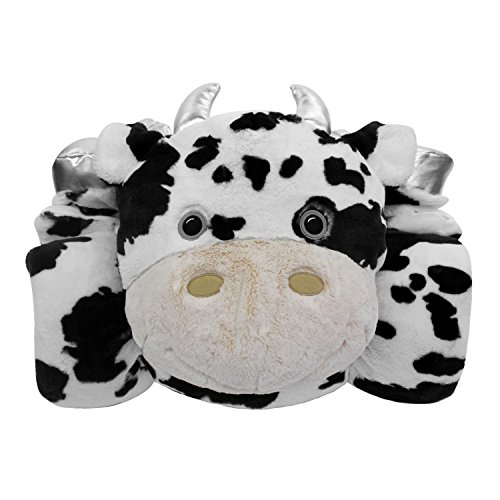 KIDS ANIMAL SLEEPING BAG COW 27 X 56