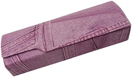 HQWLCIYD Estuche Lápiz Estuche Gafas Caja de gafas de lujo Estuche rígido Famosa marca de diseño Miopía Ópticas Gafas Cajas Almacenamiento Estuche de gafas de lectura, Rosa: Amazon.es: Oficina y papelería