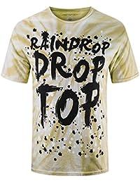 Mens Hipster Hip Hop Lightweight Graphic T-Shirts
