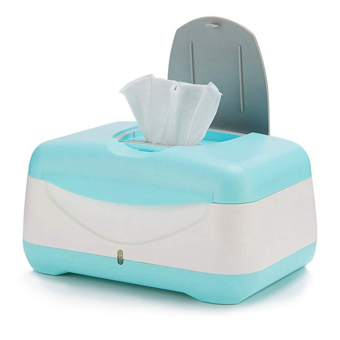 ZZZGY Baby Wipes Dispenser | Baby Wipes Case, Wipes Warmer, Keeps Wipes Fresh and Anti-Slip Strip at The Bottom, Baby Stuff for Newborn by ZZZGY