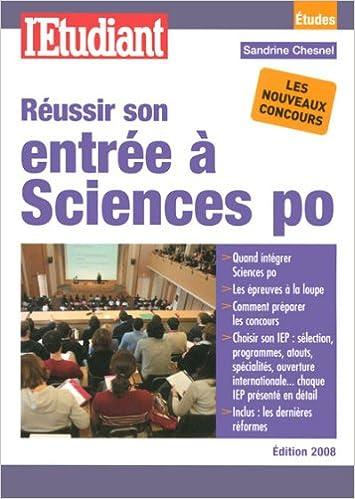 Download Online Réussir son entrée à Sciences po pdf epub