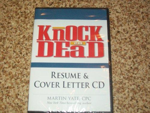 (MARTIN YATE CPC DVD KNOCK EM DEAD RESUME & COVER LETTER CD)