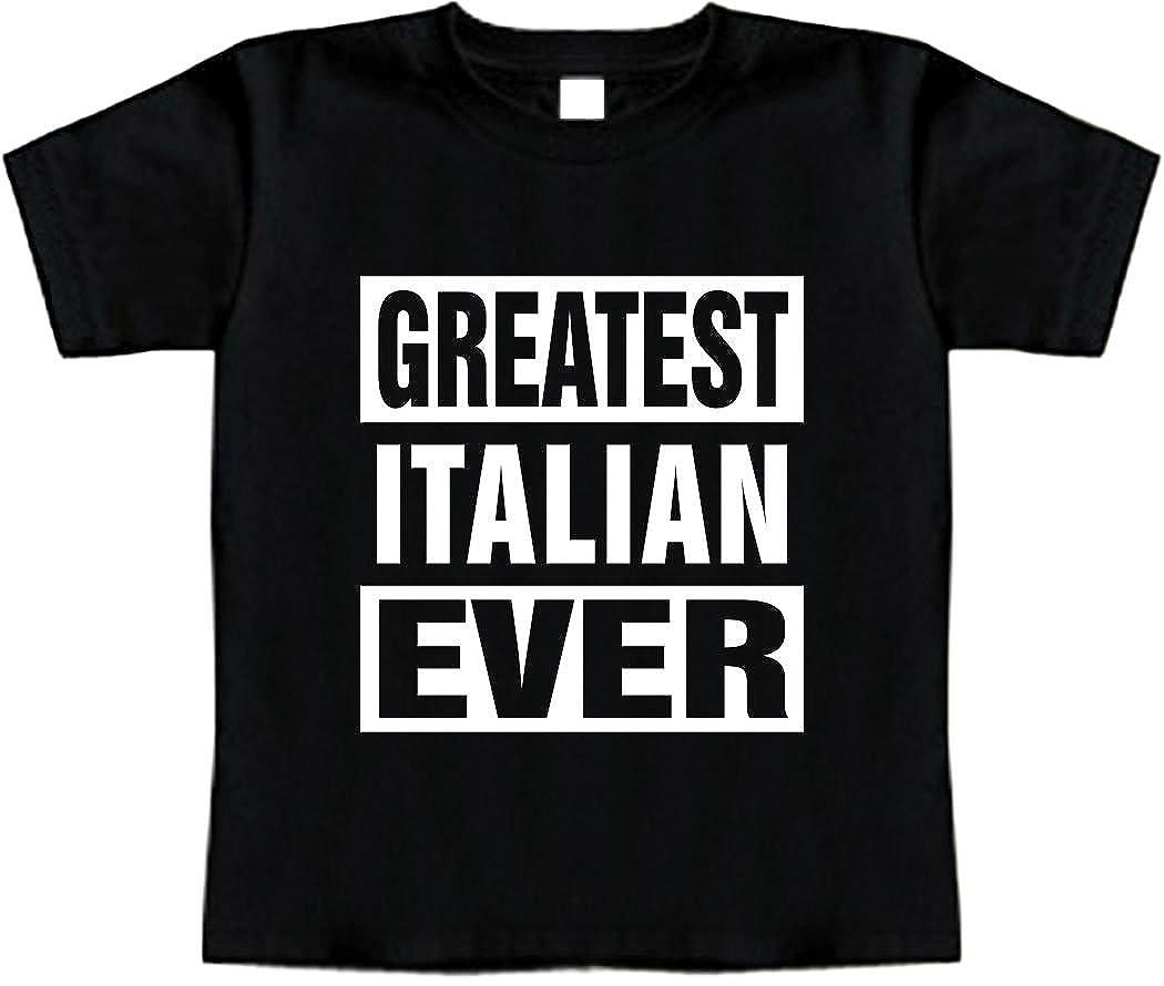 Toddler Tee Shirt Signature Depot Funny Baby T-Shirt Greatest Italian Ever