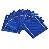 Generic 100Pcs Solar Panel Solars Cell 0.5V 0.46W Color Crystal Solar Module DIY Battery Charger 52x52MM Sun Power Bank