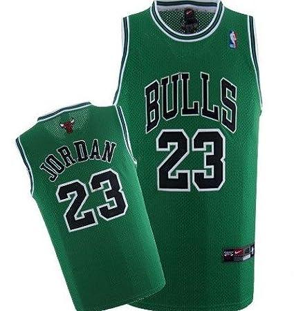 Michael Jordan Chicago Bulls (rare st. patricks day) Nike NBA Jersey New  2a1b0d569