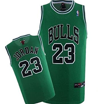 best website 51c4d 4d1bd Amazon.com: Michael Jordan Chicago Bulls (rare st. patricks ...