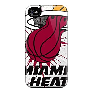 Hot Tpye Miami Heat Case Cover For Iphone 4/4s