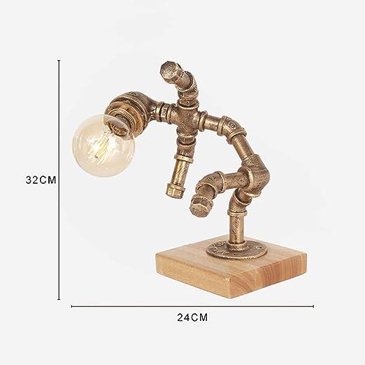 LIANG Lámpara de Mesa de Robots industriales, Sala Comedor ...